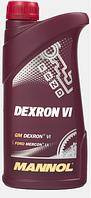 Трансмиссионное масло Mannol Dеxron VI 1L
