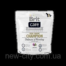Brit Care Dog Show Champion 1kg (для выставочных собак)