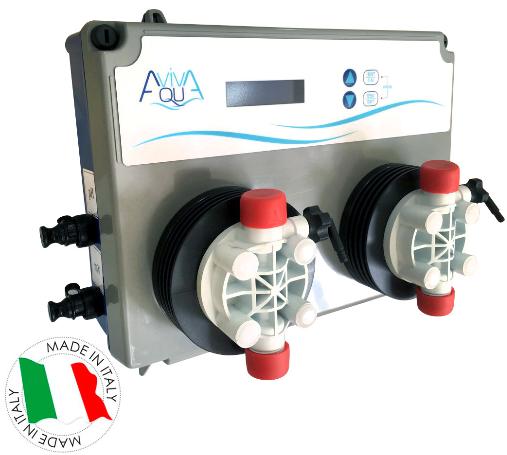 Автоматична станція дозування AquaViva SXCBASEM0000 PH/RX+Free Cl (5 л/ч)
