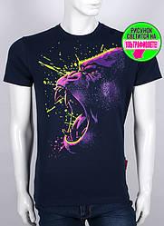 Мужская футболка с принтом,светится в темноте, Valimark, ростовка, оптом, по ценам производителя