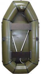 Надувная Лодка Омега Альфа ПВХ 240 - 2 местная (бюджетная)