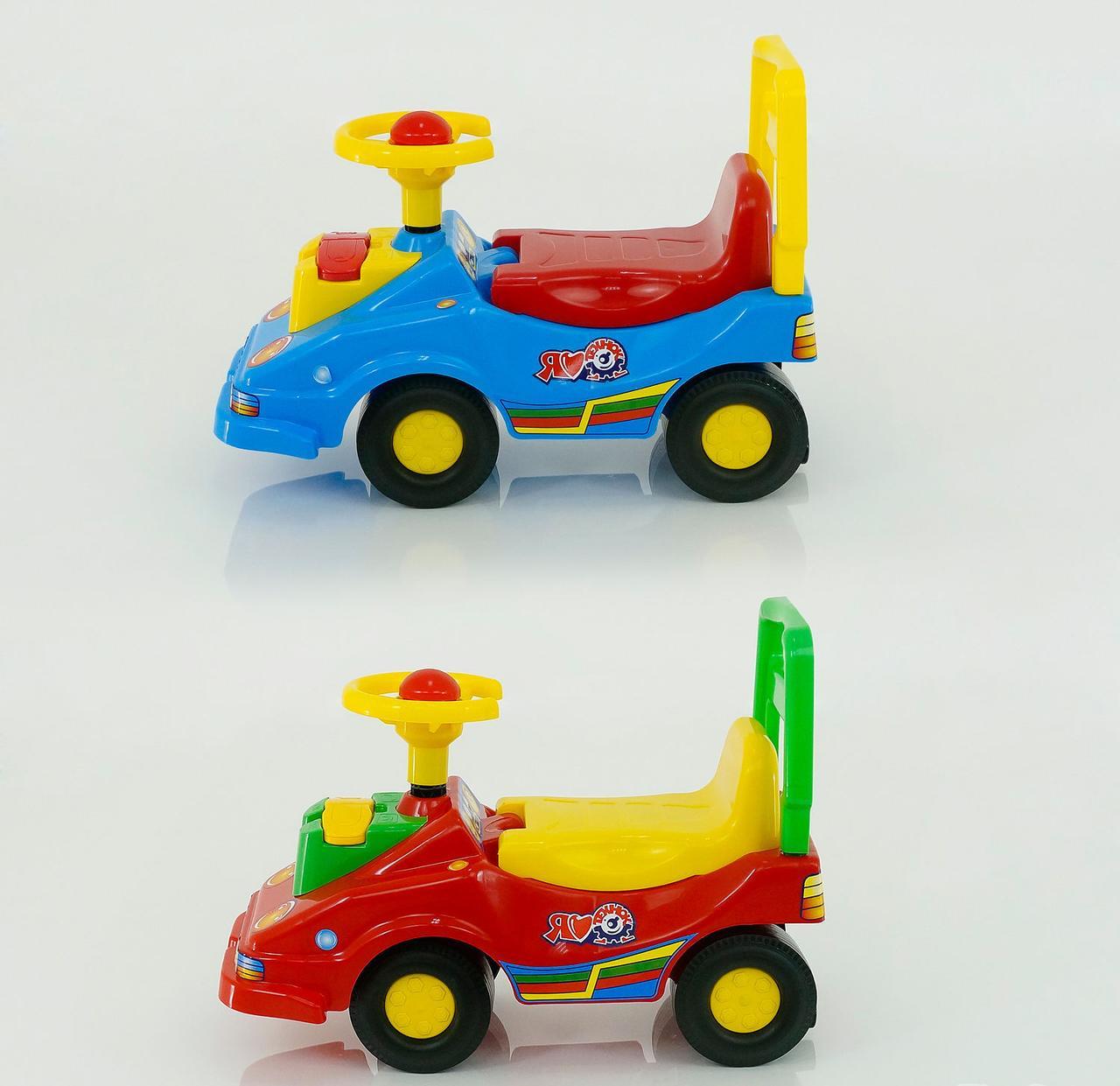 Машина-каталка  2490 (4) 2 цвета