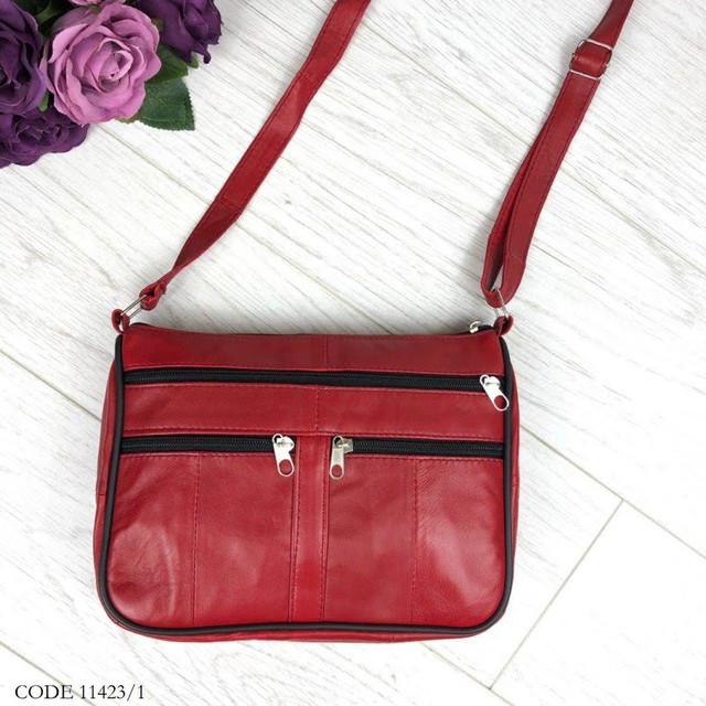 927bfeb22430 Сумка женская кожаная TUNONA, сумка натуральная кожа красная 11423/1 ...