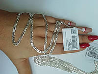 Серебряная цепочка плетение Нонна 925 пробы