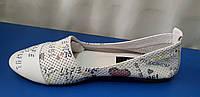 Женские кожаные балетки последний размер 39, фото 1