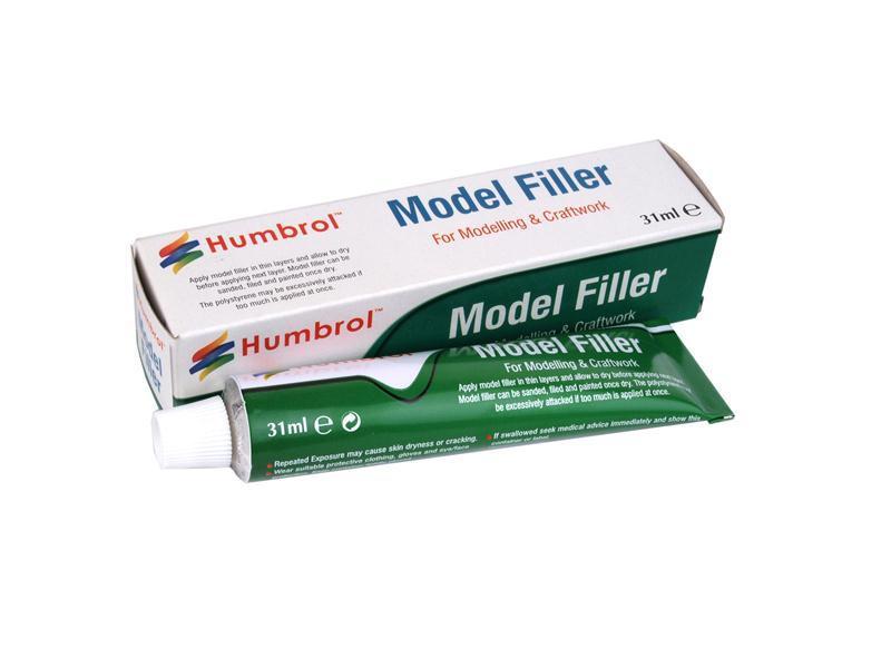 Шпаклевка для сборных пластиковых моделей 31 мл. HUMBROL AE3016