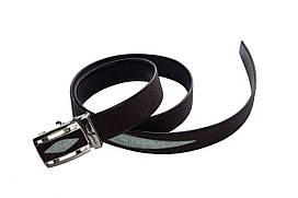 Ремень из кожи ската Ekzotic Leather Коричневый (stb11)