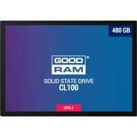 SSD внутренние GOODRAM CL100 480GB GEN.2 SATAIII TLC (SSDPR-CL100-480-G2)