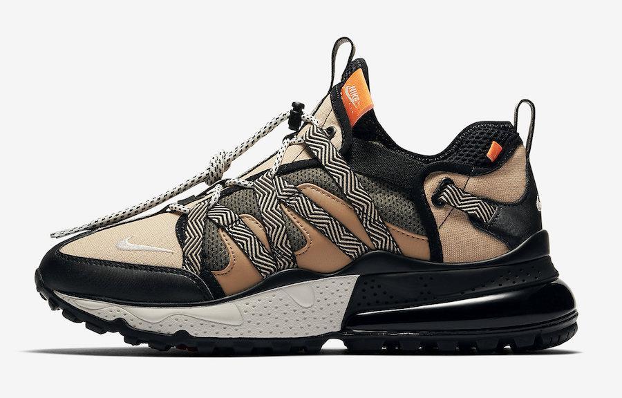 "Кроссовки Nike Air Max 270 Bowfin ""Бежевые"""