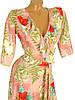 Платье в пол с цветочным принтом (в расцветках), фото 3