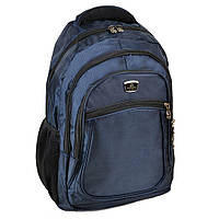 Городской рюкзак нейлон Power In Hand синий 20 - 30 л, фото 1