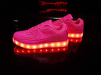Кроссовки LED Pink TX02 38