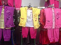 Костюмы трикотажные,троечки для девочек.Размеры 6,9-36 месяцев.Фирма CROSSFIRE.Венгрия, фото 1