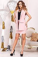 Женский  костюм жакет  и юбка в 4х цветах JD Ролинс , фото 1