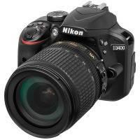 Аппараты цифровые NIKON D3400 18-105VR + 16GB + Bag