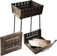 Мангал-чемодан на 6 шампуров, фото 1