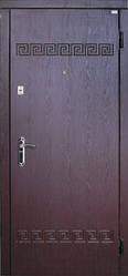 Модель 1 входные двери Саган классик 2 замка, г. Николаев