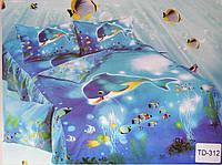 Детское постельное сатин 3Д Elway Польша 100% натуральное