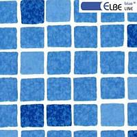Плівка ПВХ для басейну Elbeblue Mosaic blue синя мозаїка (ширина 1,65 м)