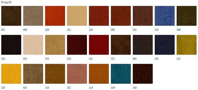 Кровать подуим ткань Кордрой (категория 2)
