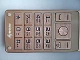 Мобильный телефон Unruly U515 gold 2 сим, фото 7