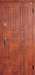 Модель 2 вхідні двері Саган класик 2 замку, р. Миколаїв