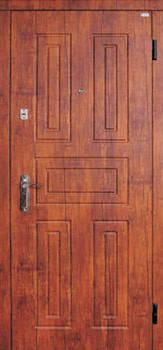 Модель 2 входные двери Саган классик 2 замка, г. Николаев, фото 2