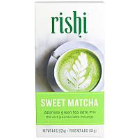 Японский зеленый чай, сладкий матча, 4.4 унций (125 г) Rishi Tea