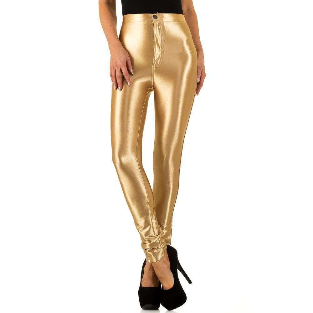 Женские брюки от Usco - золото - KL-IND7678-золото