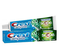 Зубная паста Crest Complete Whitening + Scope 164г