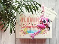 """Набор авторских развивающих игр в коробке """"Фламинго"""""""