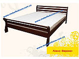 Кровать Верона односпальная 90 (Мебигранд/Mebigrand) 970х2170(2270)х790мм , фото 4