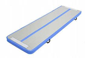 Надувний пляжний матрац Blue 300х90 см