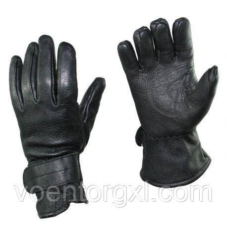 Шкіряні зимові рукавички. ВС Австрії.