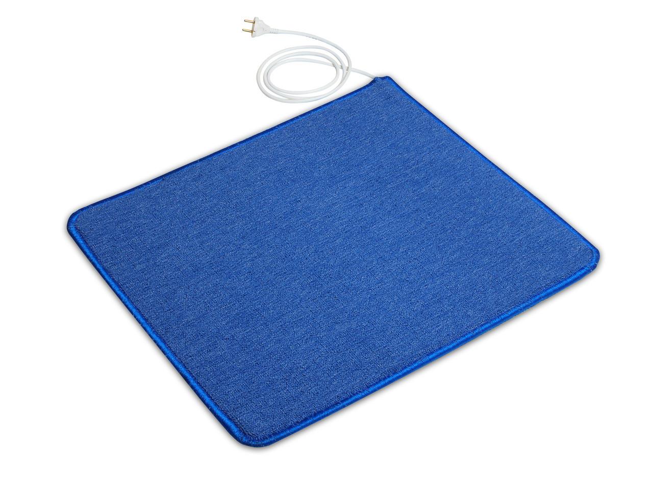 Коврик с подогревом 630мм х 530 мм (синий) Солрей