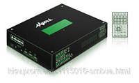Цифровой аудио адаптер со встроенным усилителем мощности 10 Вт для сетевых IP-систем оповещения  Myers M-6705