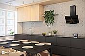 Кухонная вытяжка дымоходная BRAVO 6S MAAN LED СТЕКЛО 60см , фото 3