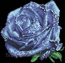 Схема для вышивания бисером Нежный цветок