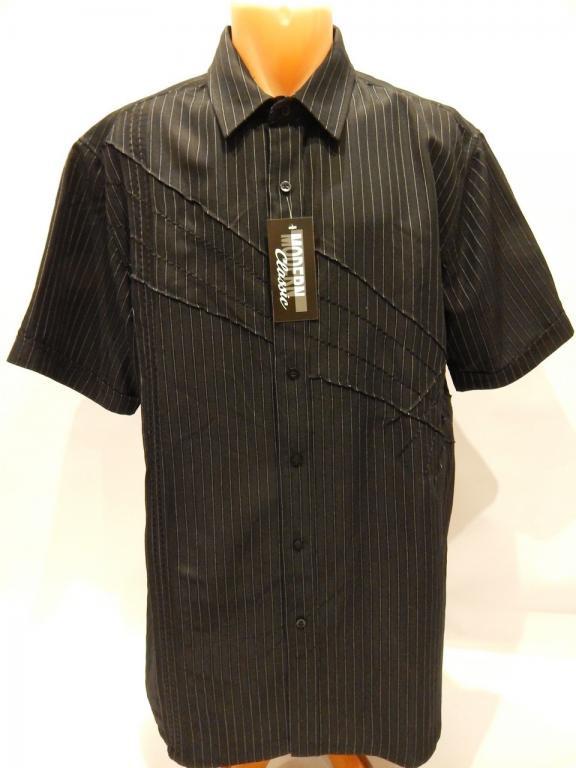 Рубашка мужская с коротким рукавом F & F