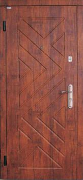 Модель 12 входные двери Саган классик 2 замка, г. Николаев, фото 2