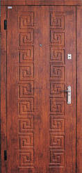 Модель 13 входные двери Саган классик 2 замка, г. Николаев