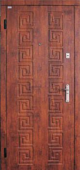 Модель 13 вхідні двері Саган класик 2 замку, р. Миколаїв, фото 2