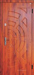 Модель 14 вхідні двері Саган класик 2 замку, р. Миколаїв