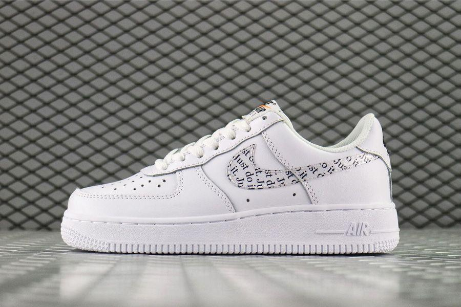 """Кроссовки Nike Air Force 1 Just Do It Low """"Белые"""""""