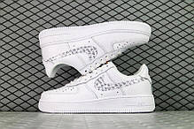 "Кроссовки Nike Air Force 1 Just Do It Low ""Белые"", фото 2"