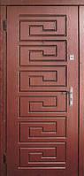 Модель 16 входные двери Саган классик 2 замка, г. Николаев