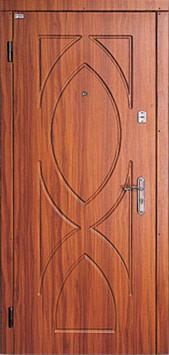 Модель 17 входные двери Саган классик 2 замка, г. Николаев