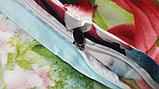 Постельное белье евро R214105 сатин Zastelli, фото 4