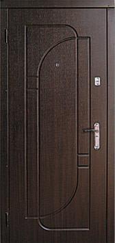 Модель 18 входные двери Саган классик 2 замка, г. Николаев