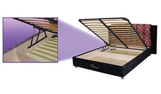 Кровать с подъемным механизмом Каприз